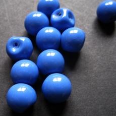 Knopf - Blau  10 mm