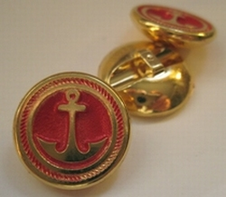Anchor-button Navy 2003  20 mm