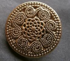 Gold-Knoop  28 mm