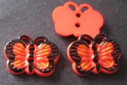 Schmetterling  13 x 18 mm