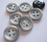 Kostuumknoop - grijs  14 mm