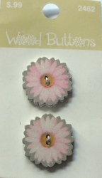 Flower - button  22 mm