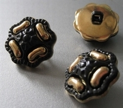 Gold-Knoop  20 mm