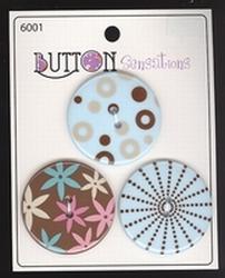 Button Sensations  34 mm