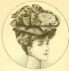 Costume Tailleur 1907  20 x 19,5 cm