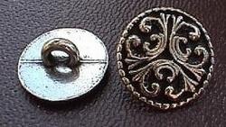 Button Tele Middels  20 mm