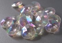 10 Glitters Sier  10 mm
