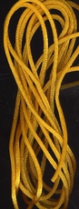 Schnur - oranjegelb  2 mm