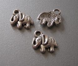 Elefant  12 x 11 mm