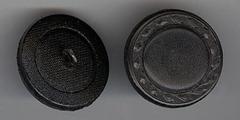 L-Knopf - Schwarz  25 mm