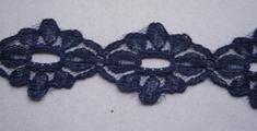 Kant - donkerblauw  25 mm