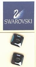 Swarovski - Jet Hamatite  Unfoiled  10 mm