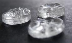 Knopf - transparant  10 mm