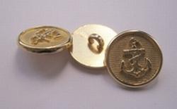 Ankerknoop-goudkleur  18 mm