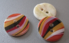 Button - Mother Of Pearl  15 mm