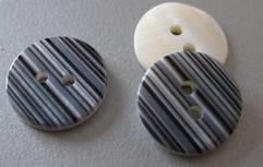 Parelmoerknoop  15 mm
