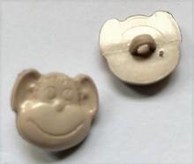 Aap - beige  15 x 16 mm