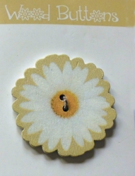 Flower - Button  35 mm