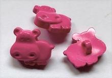 Nijlpaard  14 x 15 mm