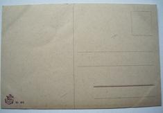 Der erste Brief  14 x 9 cm