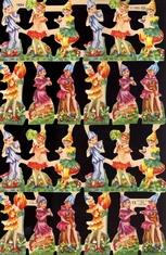 poezieplaatje - Elfenkinderen  24 x 15 cm