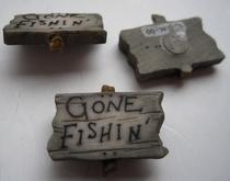 Göne Fishin  21 x 24 mm