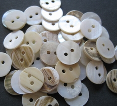 Button - Mother Of Pearl  12,5 mm