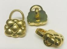 Gold-Knoop - tasje  20 mm