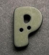 P - donkergroen  18 mm