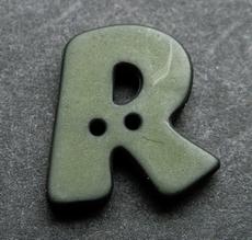 R - donkergroen  18 mm