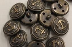 Ankerknoop-bronskleur  18 mm