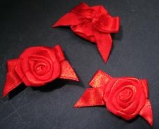 1 Roosje - Rood  27 mm
