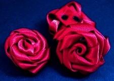 1 Roosje - Donkerrood  30 mm