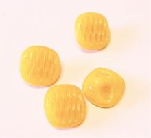 Knopf - Gelb  11 mm