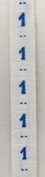 Band - blau  maat 1