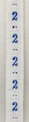 Band - blau  maat 2