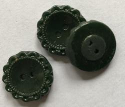 Knöpf - Dunklergrün  19 mm