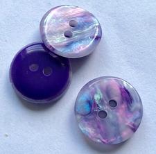 RL-knoop - paars-roze  15 mm