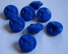 Knopf- dunklerblau  11 mm