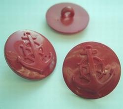Ankerknoop -  Rood  22 mm