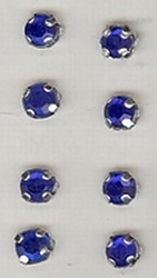 8 Pcs blue  5 mm