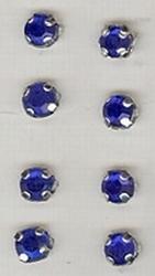 8 x Blau  5 mm