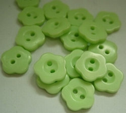 Flower - button  10 mm
