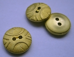 Gold-Knoop  14 mm
