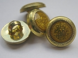 Gold-Knoop  12 mm