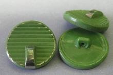 Glasknoop - groen  22 mm