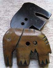 Knoop - Hoorn  43 mm