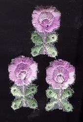 3 Flowers  26 mm hoog