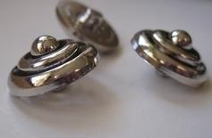Silber-Knopf  21 mm