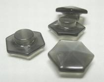 Grijs-Knoop  12 mm